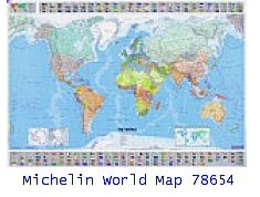World map 56x40 michelin world map 56x40 sciox Image collections